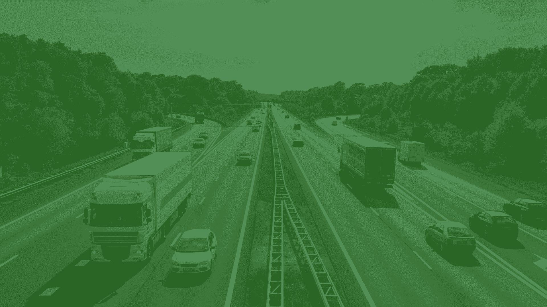 Snelweg groen